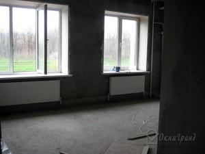 Остекление квартиры в доме серии ''п-55'' : пластиковые окна.